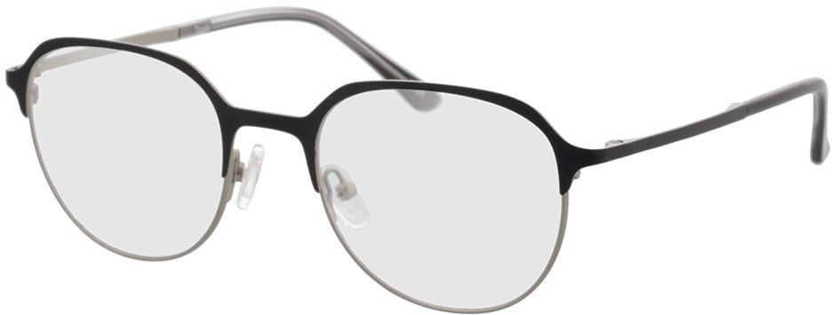 Picture of glasses model Topia silver/Zwart in angle 330