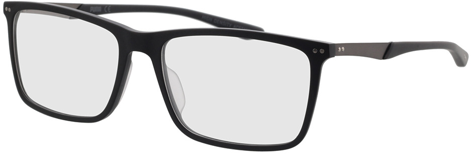 Picture of glasses model Puma PU0096O-006 56-17 in angle 330