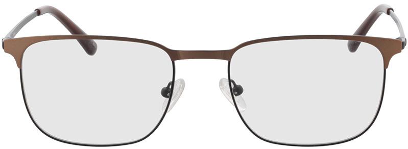 Picture of glasses model Murphy-matt schwarz/matt braun in angle 0