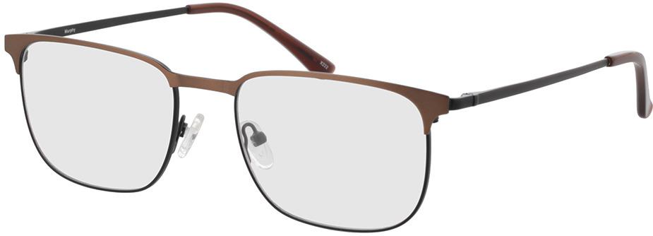 Picture of glasses model Murphy-matt schwarz/matt braun in angle 330