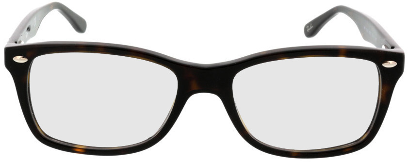Picture of glasses model Ray-Ban RX5228 2012 53-17 in angle 0