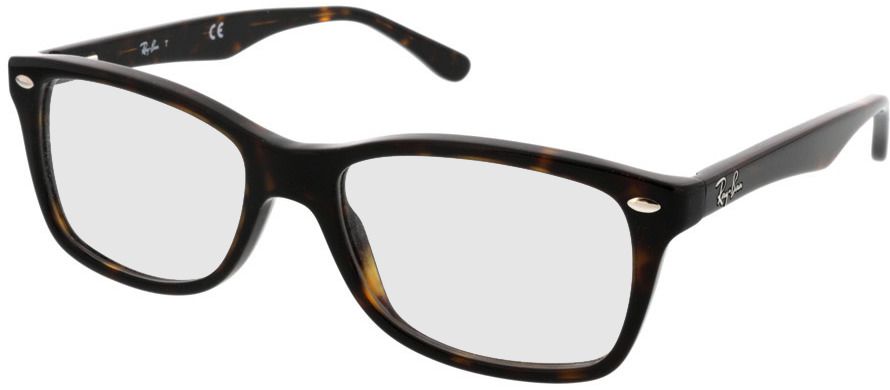 Picture of glasses model Ray-Ban RX5228 2012 53-17 in angle 330