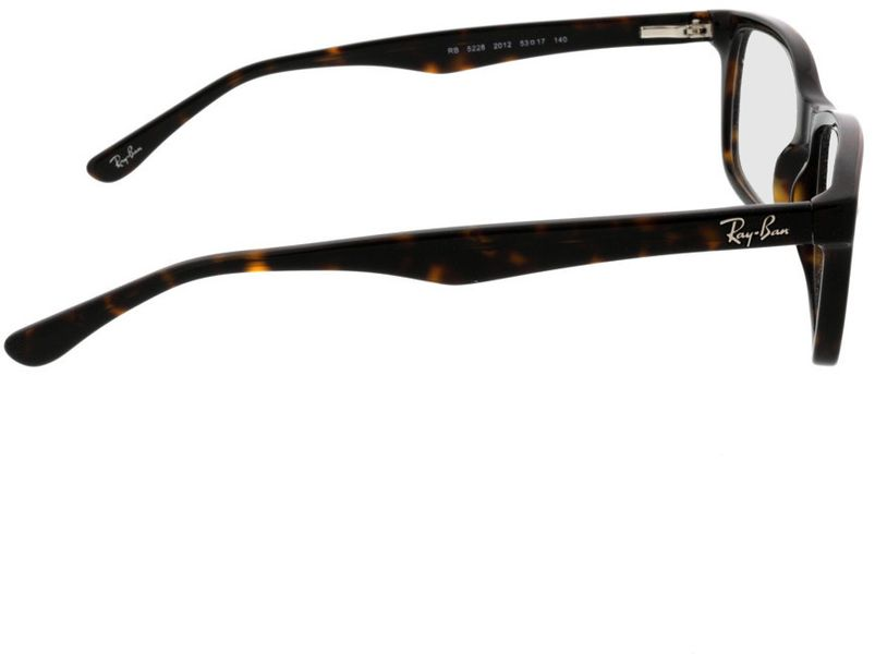 Picture of glasses model Ray-Ban RX5228 2012 53-17 in angle 90