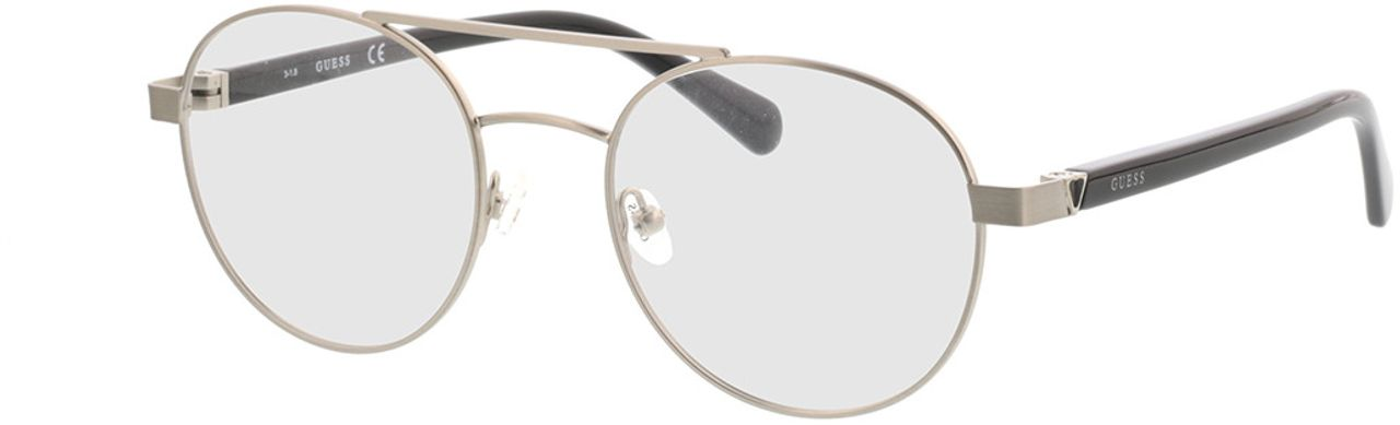 Picture of glasses model Guess GU1967 010 51-20 in angle 330