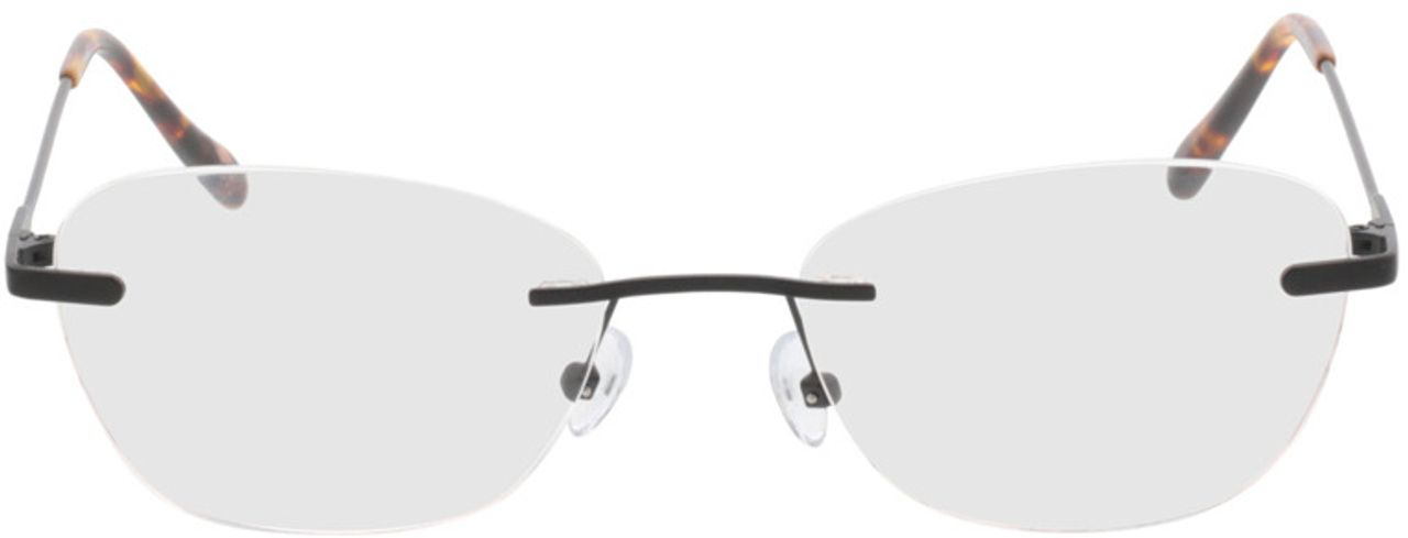 Picture of glasses model Lucida-schwarz in angle 0