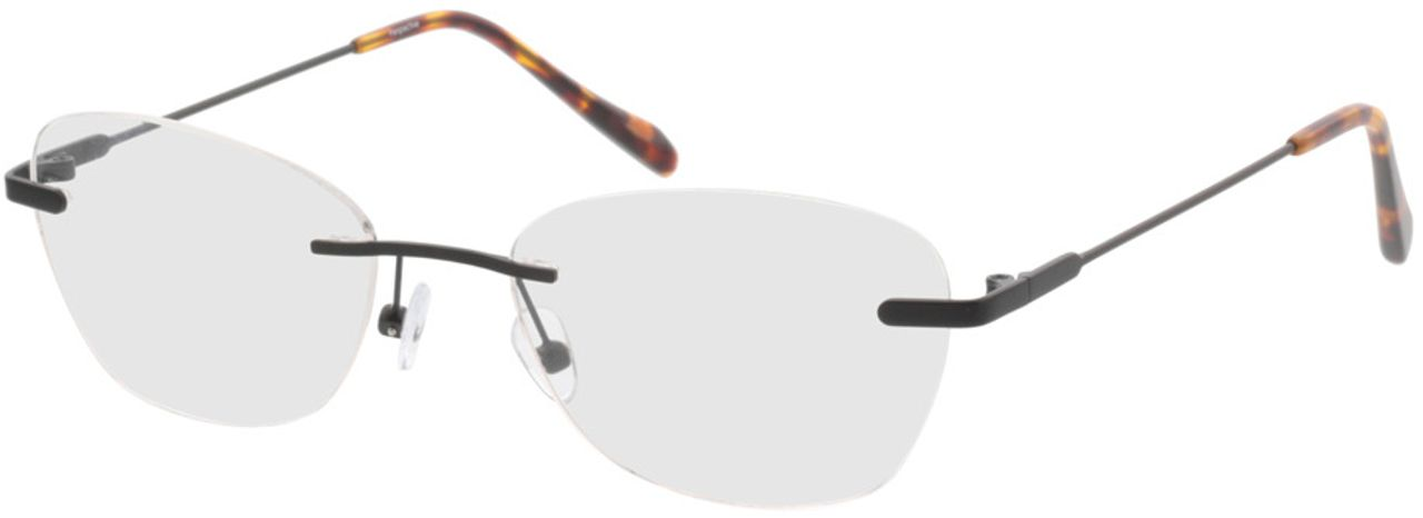 Picture of glasses model Lucida-schwarz in angle 330