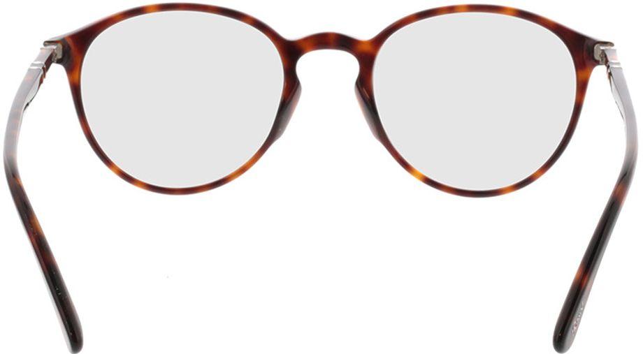 Picture of glasses model Persol PO3218V 24 51-21 in angle 180