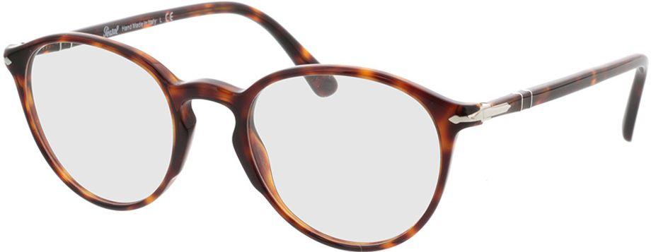 Picture of glasses model Persol PO3218V 24 51-21 in angle 330