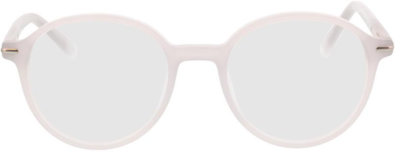 Picture of glasses model Borno-matt grau/matt silber in angle 0