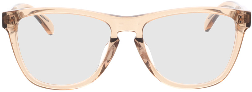 Picture of glasses model Warwick-braun in angle 0