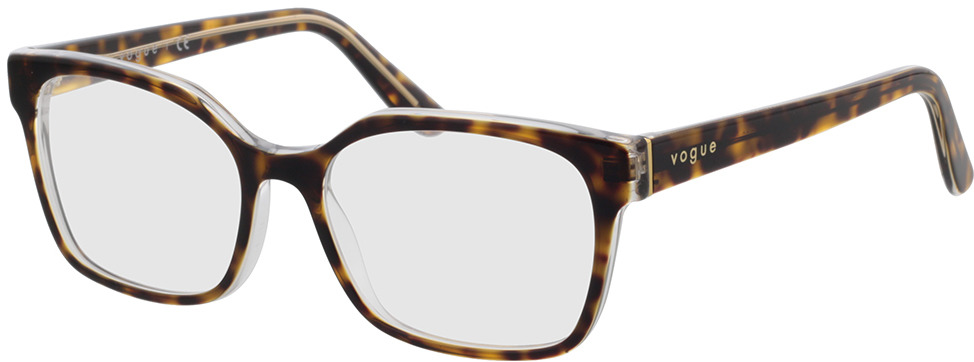 Picture of glasses model Vogue VO5358 1916 53-16 in angle 330