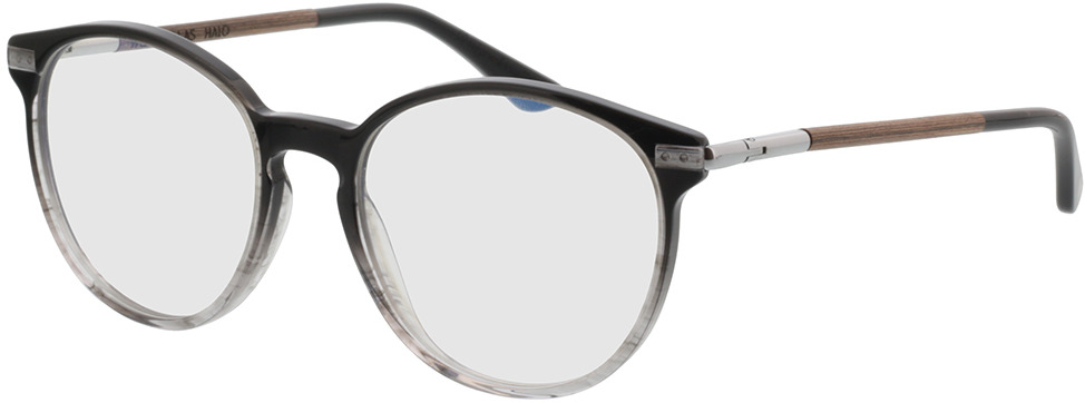 Picture of glasses model Wood Fellas Optical Halo macassar/black 52-18 in angle 330