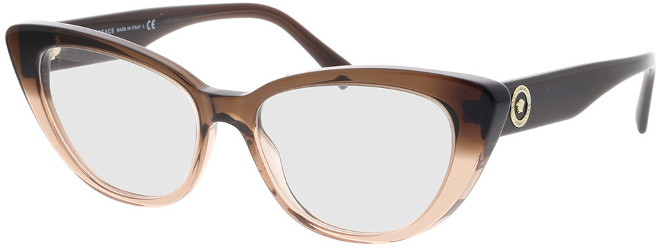 Picture of glasses model Versace VE3286 5332 54-16 in angle 330
