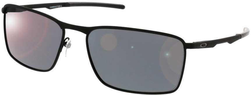 Picture of glasses model Oakley Conductor 6 OO4106 01 58 16 in angle 330