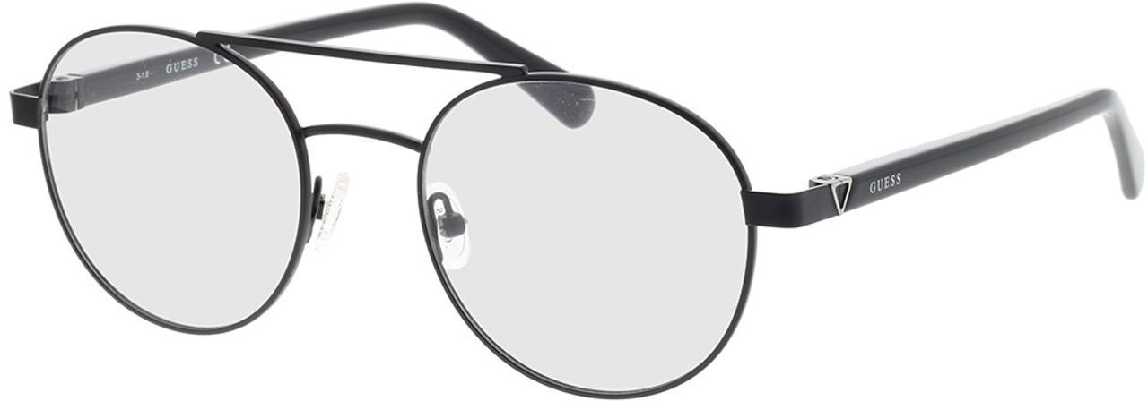 Picture of glasses model Guess GU1967 005 51-20 in angle 330