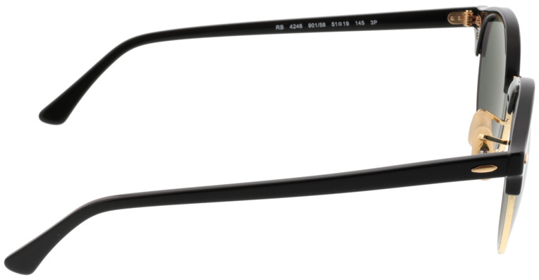 Picture of glasses model Ray-Ban RB4246 901/58 51-19 in angle 90