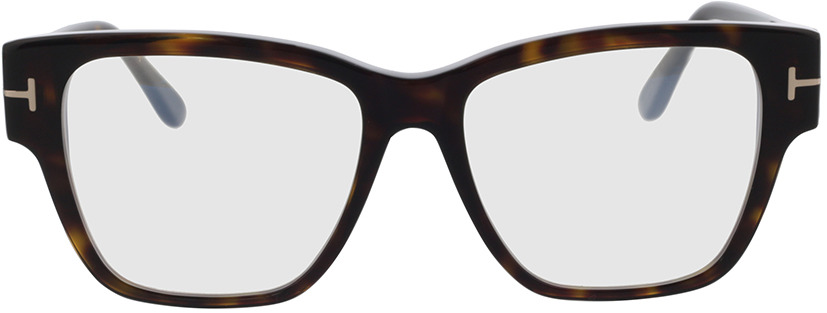 Picture of glasses model Tom Ford FT5745-B 052 54 in angle 0