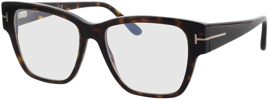 Picture of glasses model Tom Ford FT5745-B 052 54 in angle 330