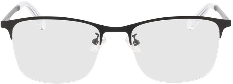Picture of glasses model Atticus-matt schwarz in angle 0