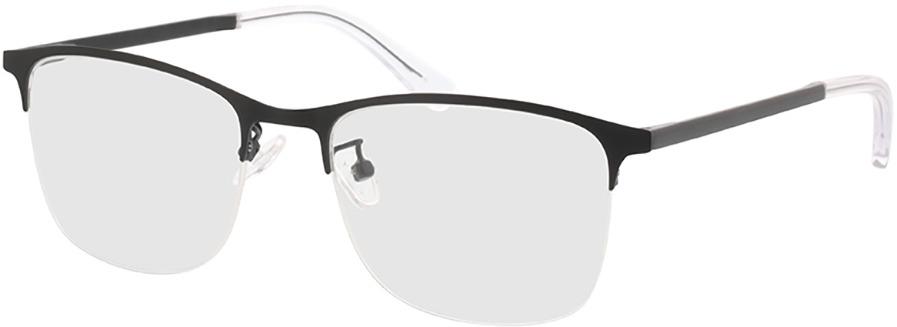 Picture of glasses model Atticus-matt schwarz in angle 330