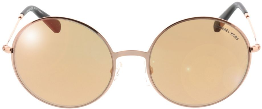 Picture of glasses model Michael Kors Kendall Ii MK5017 1026R1 55-19 in angle 0