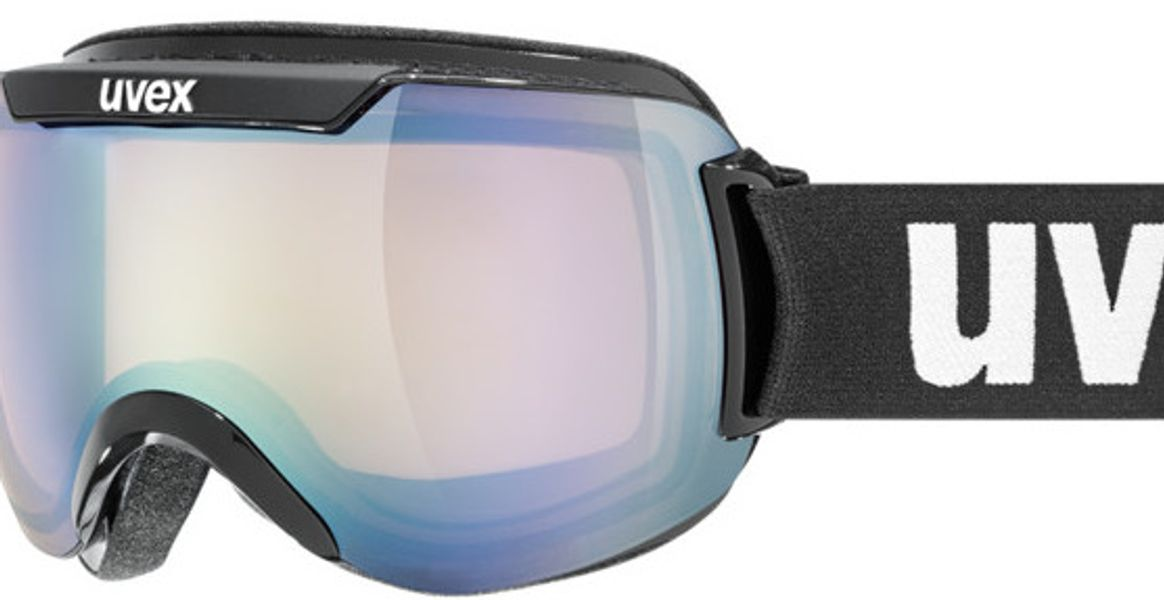 Picture of glasses model Uvex Skibrille Downhill 2000 VLM Black in angle 0