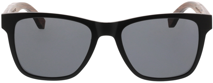 Picture of glasses model TAKE A SHOT Iron Heinrich: Walnussholz 53-19 in angle 0
