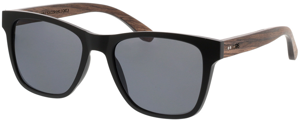 Picture of glasses model TAKE A SHOT Iron Heinrich: Walnussholz 53-19 in angle 330