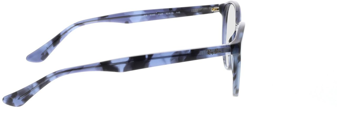 Picture of glasses model Ray-Ban RX5380 5946 52-19 in angle 90