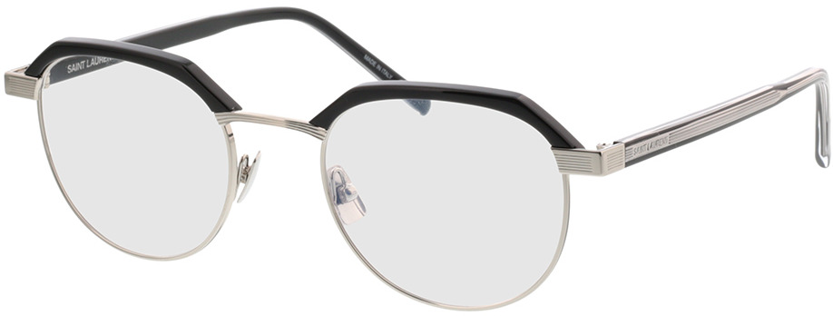 Picture of glasses model Saint Laurent SL124-001 50-21 in angle 330
