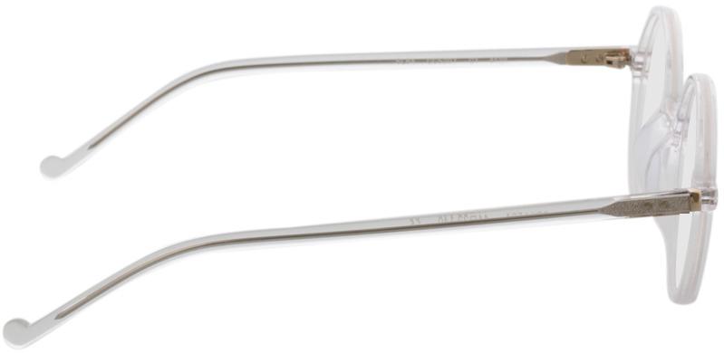 Picture of glasses model Torello transparant in angle 90