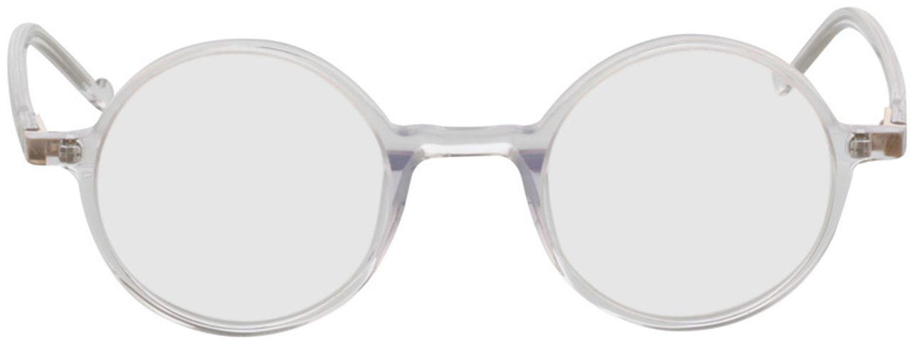 Picture of glasses model Torello-transparent in angle 0