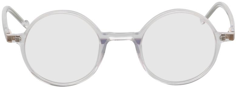 Picture of glasses model Torello transparant in angle 0