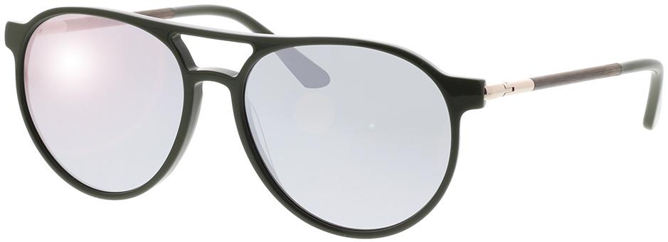 Picture of glasses model Wood Fellas Sunglasses Burgau macassar/olive 56-16
