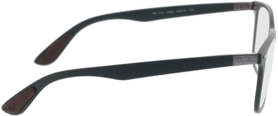 Picture of glasses model Ray-Ban RX7144 8062 53-18 in angle 90