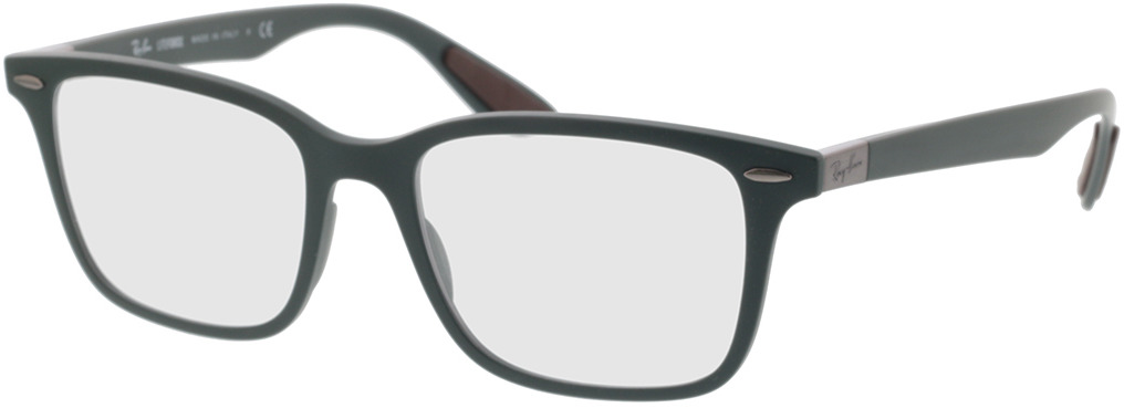 Picture of glasses model Ray-Ban RX7144 8062 53-18 in angle 330