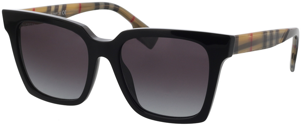 Picture of glasses model Burberry BE4335 39298G 53-18 in angle 330