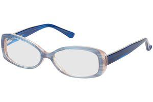 Oceanside-transparent blau/dunkelblau