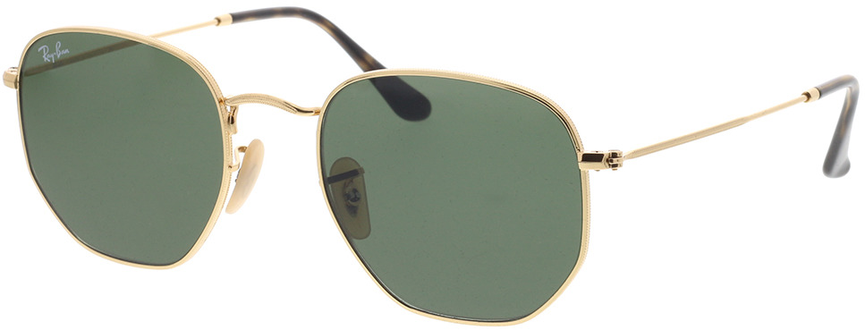 Picture of glasses model Ray-Ban Hexagonal RB3548N 001 54-21