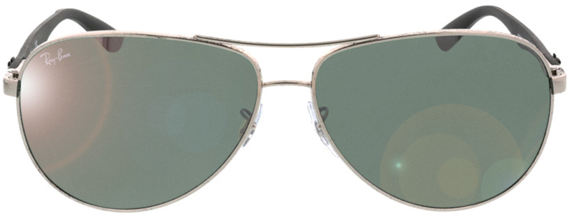 Picture of glasses model Ray-Ban Carbon Fibre RB8313 003/40 61-13 in angle 0