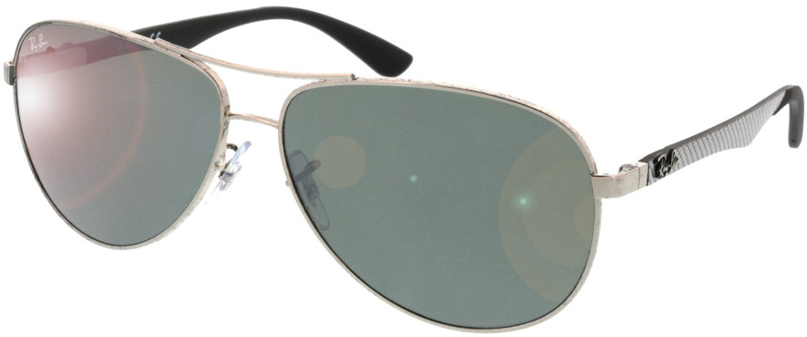 Picture of glasses model Ray-Ban Carbon Fibre RB8313 003/40 61-13 in angle 330