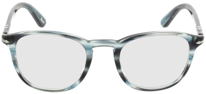 Picture of glasses model Persol PO3143V 1051 49-21 in angle 0