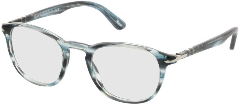 Picture of glasses model Persol PO3143V 1051 49-21 in angle 330