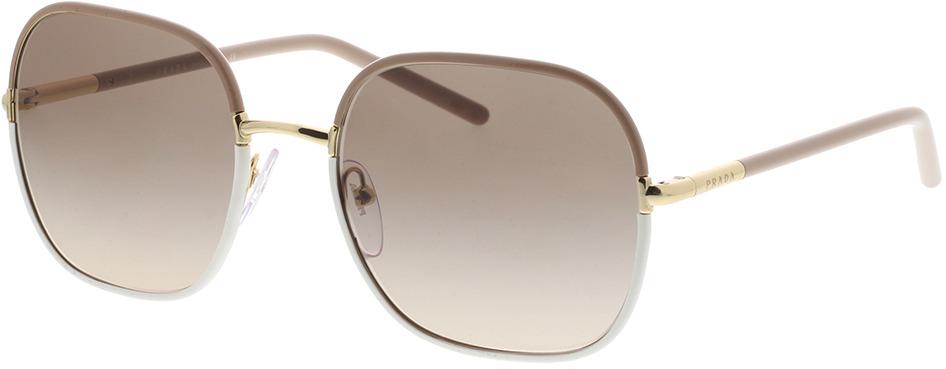 Picture of glasses model Prada PR 67XS 09G3D0 55-19 in angle 330