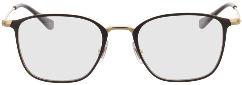 Picture of glasses model Ray-Ban RX6466 2905 49-19 in angle 0
