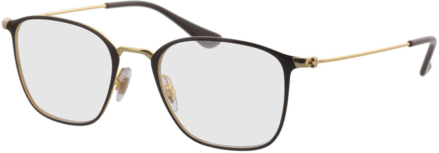 Picture of glasses model Ray-Ban RX6466 2905 49-19 in angle 330