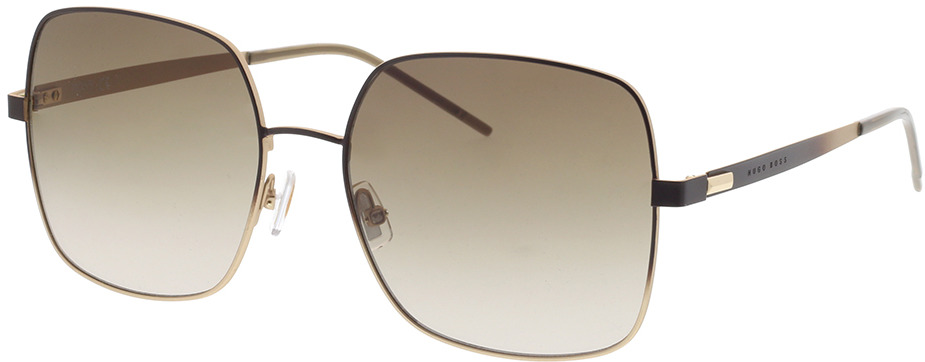 Picture of glasses model Boss BOSS 1160/S UFM 57-17 in angle 330
