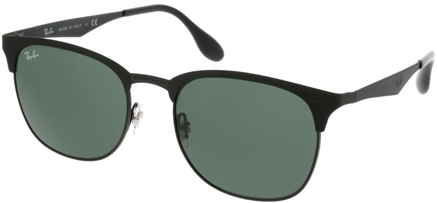Picture of glasses model Ray-Ban RB3538 186/71 53-19 in angle 330