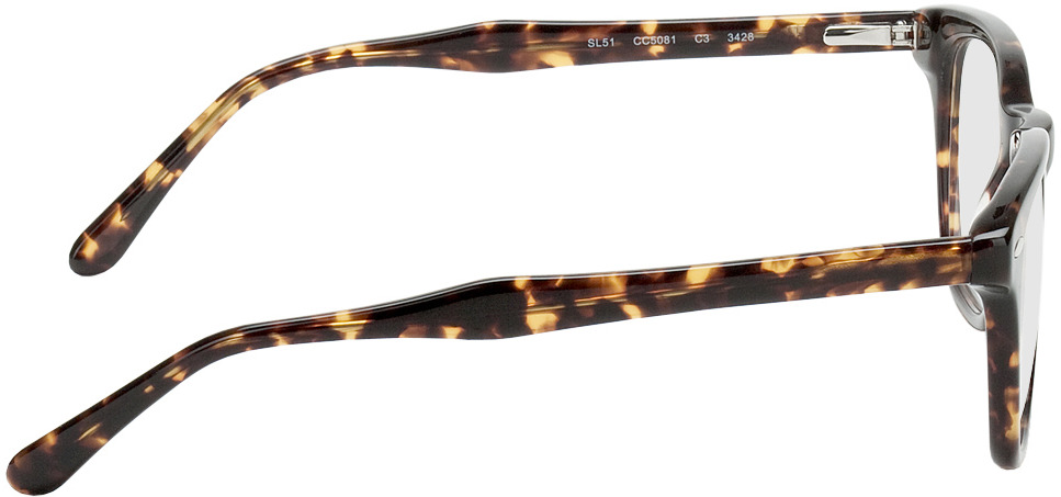 Picture of glasses model Hevermelhoia castanho/mosqueado in angle 90