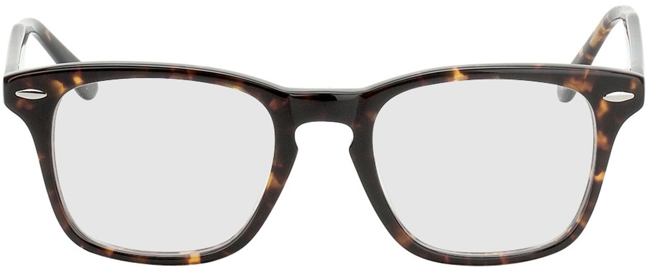 Picture of glasses model Heredia brown/mottled in angle 0